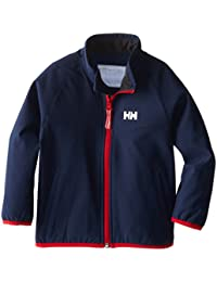 Helly Hansen K Softjacket - Chaqueta para niños, color azul, talla 104/4