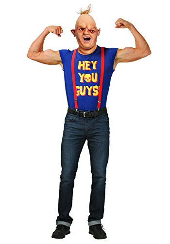 Sloth Den Von Goonies Kostüm (The Goonies Mens Sloth Fancy dress costume)