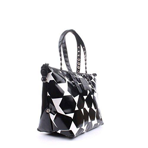 Gabsille GILDA-E17 TEST Shopping Donna Geometrico B/n