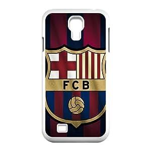 Fc Barcelone Logo 2014 Fond d'écran Samsung Galaxy S4 9500 coque de cas de téléphone portable blanc téléphone cellulaire coque de Housse EEECBCAAI79613