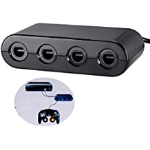 Bx-W201 Game Cube Controllers Adapter For Wii U (Black)