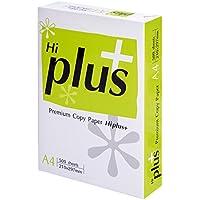 Hi Plus-Risma di carta per stampanti e fotocopiatrici, 75 g/m², formato A4, pacco HIP75A4, colore: bianco (500 fogli) -  Confronta prezzi e modelli