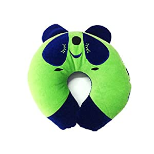 Platinum Exclusive Baby Pillow(0-9 months) for Neck support Head Rest in Green & Blue Color (Pack of 1 )
