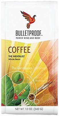 Bulletproof 'The Mentalist' Dark Roast Whole Bean Coffee 340g by Bulletproof