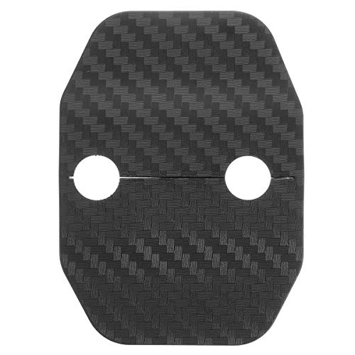 Viviance Door Lock Carbon Fiber Cover Protector Decector Decoration Trim Für BMW X5 F15 14-16