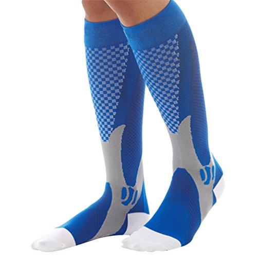 Ruiija Calcetines Unisex, Calcetines de Compresion para Deporte, Transpirable, Antibacteriana y de Secado Rápido Calcetines