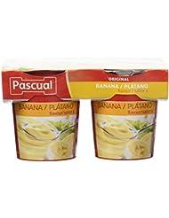 Pascual Yogur Sabor Plátano - Paquete de 4 x 125 gr - Total: ...
