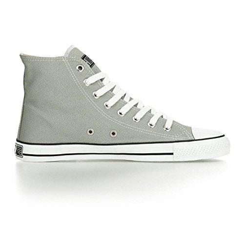 Ethletic Sneaker HiCut / High-Sneaker aus Bio-Baumwolle – urban grey / white – nachhaltig & fair - 5