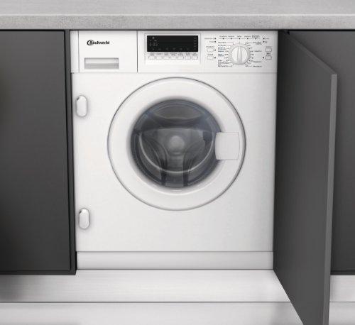 Bauknecht WAI 2642 Einbau-Waschmaschine / A++ B / 1400 UpM / 7 kg / Weiß / Vollwasserschutz / Display / Small display / Vollwasserschutz / Hygiene+ Programm