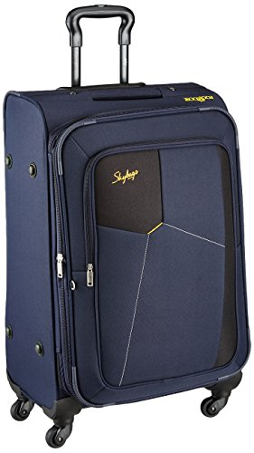 Skybags Footloose Rubik Polyester 680 mm Blue Softsided Check-in Luggage (STRUW68EBLU)