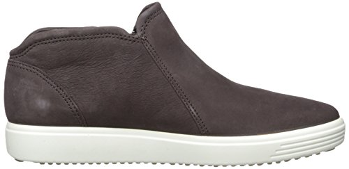 Ecco Ladies Soft 7 Ladies High Sneaker Brown (shale / Powder)