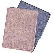 df835f568 Men In Black Cotton Linen Blend Solid Shirt Fabric(Unstitched ...