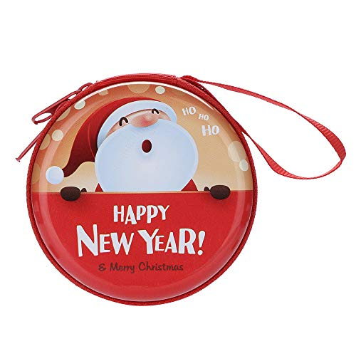 Javpoo Christmas Mini Zipper Auriculares Auriculares
