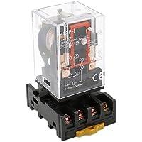 heschen Gereral propósito Relay MK2P-I AC 220V bobina DPDT 8pines con Plug-in Terminal Socket pyf83a