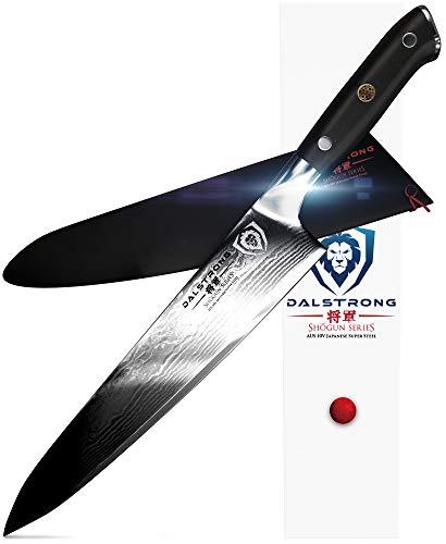 Dalstrong coltello chef - serie shogun gyuto - aus-10v - con trattamento termico in vuoto - 9.5
