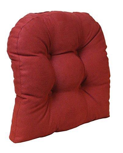 Der Greifer rutschfeste Universal-Stuhl Kissen Honeycomb, rot von Klear VU (Greifer Stuhl Kissen Rot)