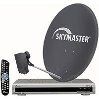 Skymaster DX 24Quad ricezione–Impianto satellitare digitale (Quad) 80cm - Trova i prezzi più bassi su tvhomecinemaprezzi.eu