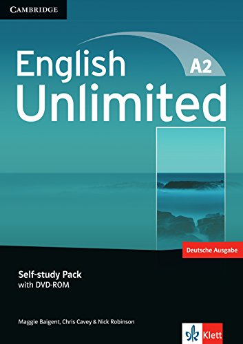 English Unlimited A 2: Elementary. Self-study Pack with DVD-ROM