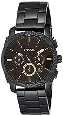 Idea Regalo - Fossil Orologio Cronografo Quarzo Uomo con Cinturino in Acciaio Inox FS4682
