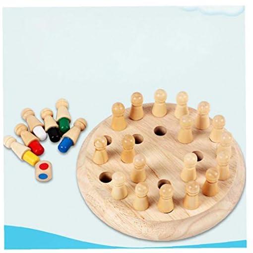 OMMO-LEBEINDR-Holz-Memory-Match-Fun-Table-Family-Brettspiele-Fr-Kinder-Und-Erwachsene-Vorschulbildung-1set-Holz-Speicher