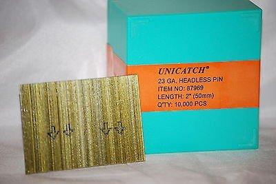 2 23 Gauge Galv. Unicatch Headless Pins Fits:Grex, Senco,Bostitch 10,000/Box by Unicatch