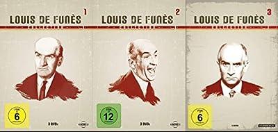 Louis de Funès Collection 1 2 3 : DIE GROSSE SAUSE + 5 FÜNF GLÜCKSPILZE * QUIETSCH WER BOHRT DENN DA NACH ÖL ? + SCHLITZOHR + G