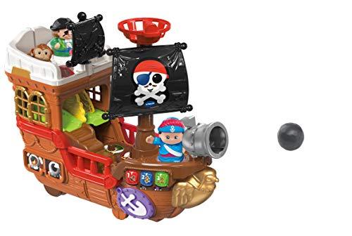 Vtech 80-177804 Kleine Entdeckerbande-Piratenschiff Spielfiguren Babyfiguren, bunt