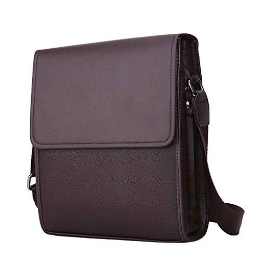 Herren Business Aktentasche aus Leder atmungsaktive wasserdichte Packung einzelne Schulter-Kasten Taschen Umhängetasche Tasche Republe