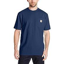 Carhartt hombres ropa de trabajo para hombre de manga corta T-Shirt en original FIT K87