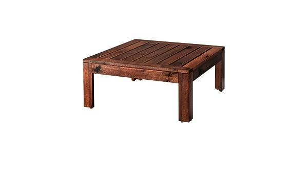 Ikea tavolino sgabello applaro sezione marrone cm
