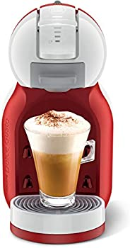 Nescafe Dolce Gusto by De'Longhi MiniMe Coffee Machine -EDG305.WR - Red, 6.294