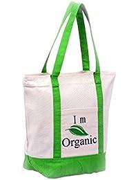 Jute Shopping Bag Green Earth Organic Set Of 3