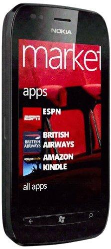 Nokia Nokia Lumia 710 Vodafone schwarz ohne Simlock, ohne Vertrag