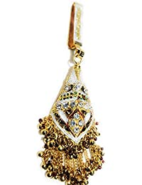 Indian Ethnic Designer Fashion High Quality Stone, Gold Plated Belly Kamar Guccha For Women And Girl - B07CM2SF1K