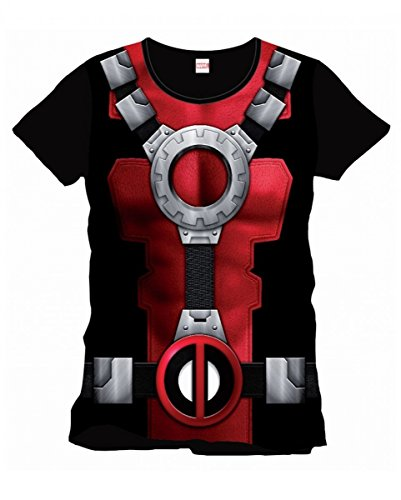Horror-Shop Marvel Comics Deadpool T-Shirt L (Halloween Ryan Deadpool)