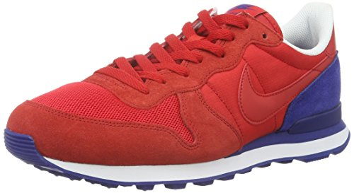 Nike Herren Internationalist Turnschuhe, Rot, 42 EU (Nike-internationalist-turnschuhe)