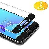 BANNIO 3D Verre Trempé Complet pour Samsung Galaxy J7 2017,[2 Pièces] HD Film Protection Écran en Couverture Intégrale pour...