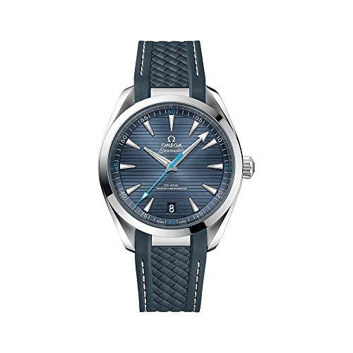 Omega Seamaster Automático Azul Dial Mens Reloj 220.12.41.21.03.002