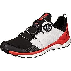 adidas Terrex Agravic Boa, Chaussures d'escalade Homme, Multicolore (Negbás/FTW Bla/Rojact 000), 46 EU