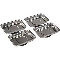 Silverline - Juego de bandejas magnéticas (4 piezas)