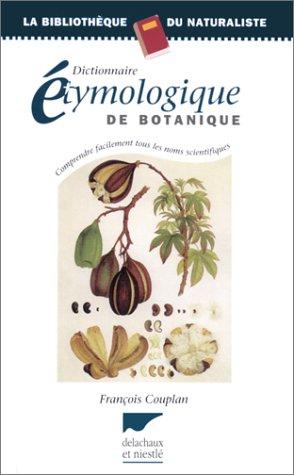 Dictionnaire étymologique de botanique