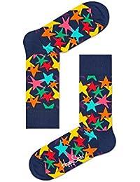 Happy Socks Coloré étoiles Chaussettes Pour Hommes, Marine