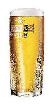 becks-vier-pint-glass-square-embossed-and-nucleated-1-glass