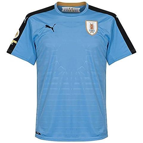 Uruguay Home Trikot 2016 2017 inkl Copa America Centenario Logo - XL
