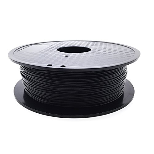 AptoFun Carbon Fiber Plus/ Kohlenstoff Plus Filament (1,75mm, 800g, 300M,200°C - 220°C) mit Premium Qualität für 3D Drucker MakerBot RepRap MakerGear Ultimaker uvm/ auch für 3D-Stifte