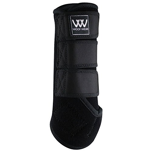 Woof Wear Dressage Exercise Wrap Medium Black -