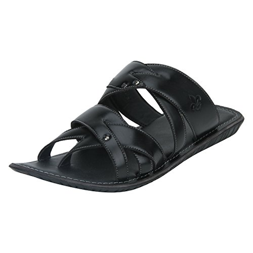 Bond Street by (Red Tape) Men's Black Hawaii Thong Sandals - 7 UK/India (41)(RSP0421-7)