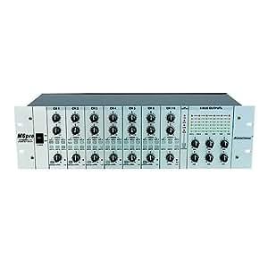 Omnitronic 057202 MZD-860 Zones Matrix Argenté