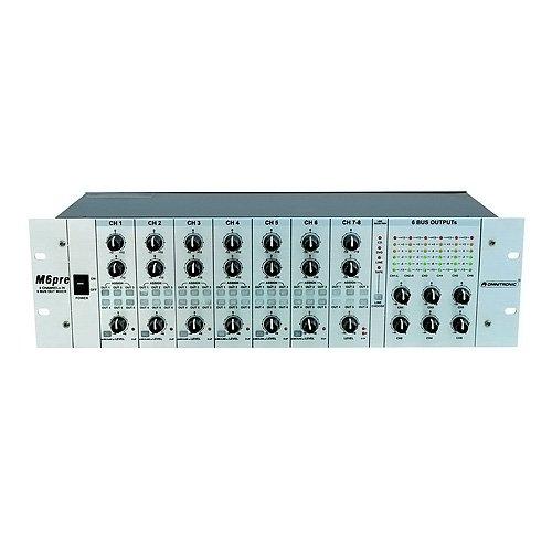 Omnitronic 10304115 MZD-860 Matrix-Zonen-Verteiler