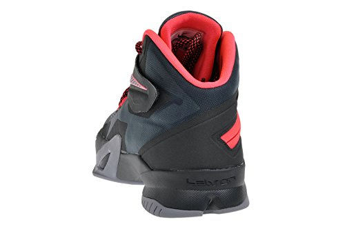 Nike Nike Zoom Soldier Viii Lebron James Basketballschuhe - Scarpa, , taglia Grau (Grey/Hyper Punch)